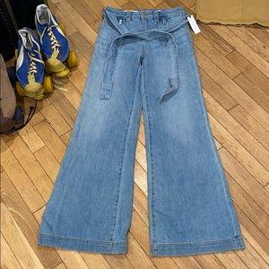 NWT Anthropologie - Pilcro Letterpress wide jeans